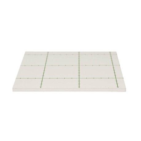 Carton mousse blanc une face adhésive - Epaisseur 5mm