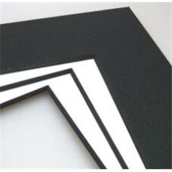 Passepartout Biseau Noir 1,4mm
