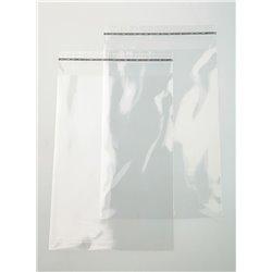Pochette transparente 24x30cm (brut 25x31cm)