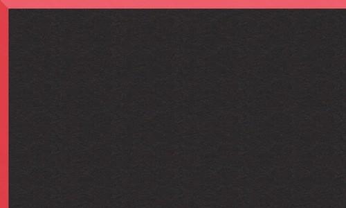 Noir biseau rouge BR34921