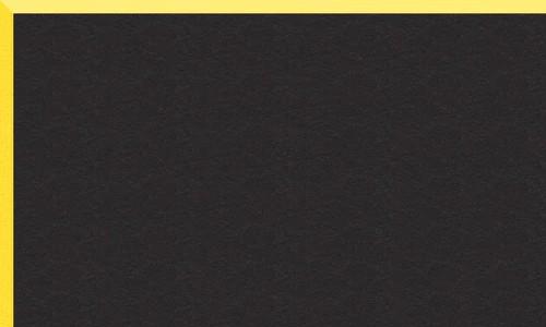 Noir biseau jaune BR44921