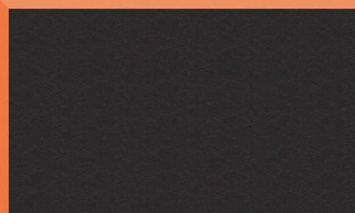 Noir biseau orange BR54921